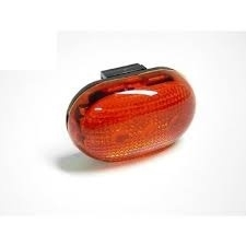 Berg LED lamp rood (152020)