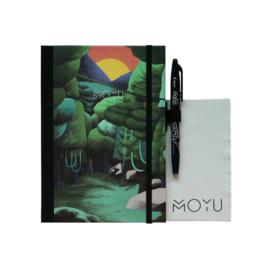 MOYU Uitwisbaar Steenpapier Premium A5 Funky Forest