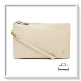 Mighty Purse: Wristlet, Cream