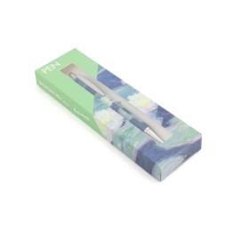 Balpen in doos, Monet, Waterlelies