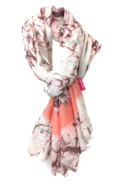 Shawl Flower Pink