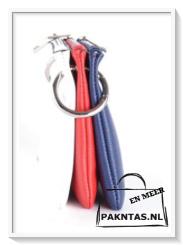 3 kleuren schoudertas: rood-wit-blauw