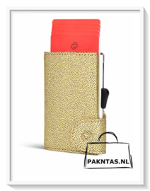 C-Secure: Fashion wallet: Gold
