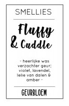 Witte geurbloem Fluffy & Cuddle