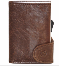 C-Secure: Wallet Dark Brown