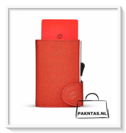 C-Secure: Fashion wallet: Red