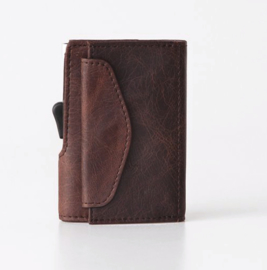 C-Secure: Coin Wallet Brown