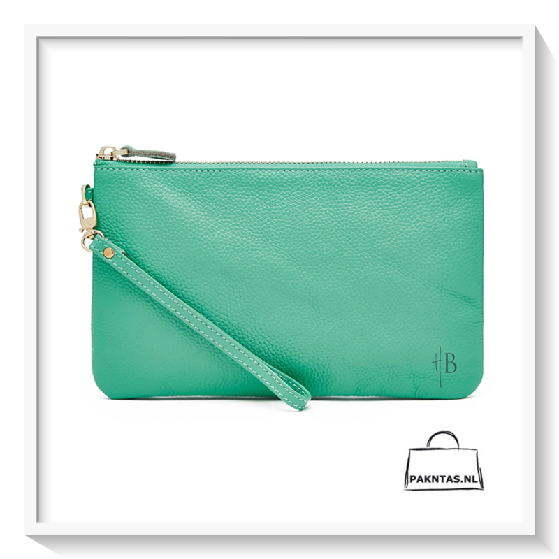 Mighty Purse: Wristlet, Turquoise