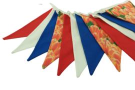 Vlaggenlijn rood-wit-blauw