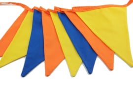 Thema: geel -oranje- blauw