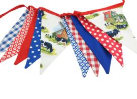 vlaggenlijn Holland  molens