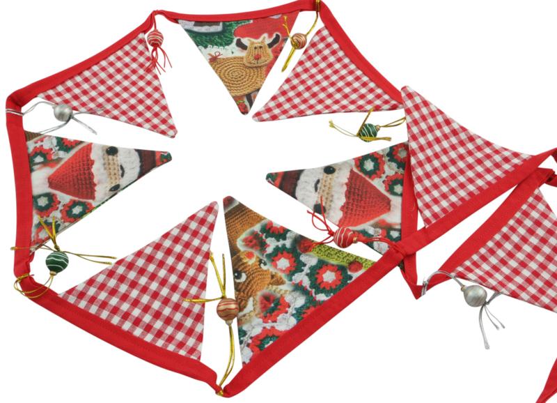 Kerst vlaggenlijn