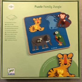 Djeco puzzel 1+ hout dieren