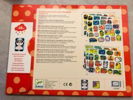 Djeco stickers 18 mnd