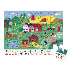 Janod puzzel boerderij 3+ 24 st.