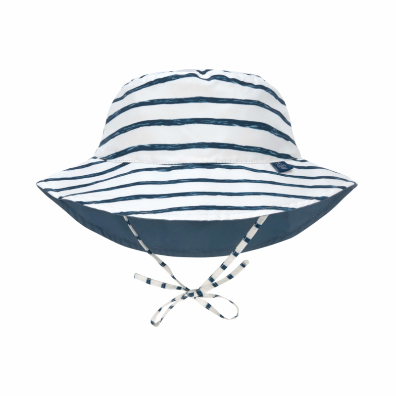 Lässig zonnehoed stripes navy