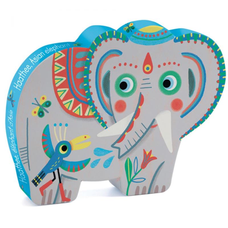 Djeco puzzel olifant 24 st. 3+ DJ07208
