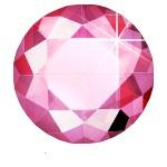 Hot Fix Rhinestone  Pink  SS20 Zakje a 200 gram