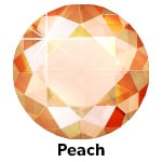 Hot Fix Rhinestone  Peach  SS6 Zakje a 50 gram