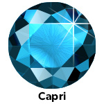 Hot Fix Rhinestone  Capri Blue  SS20 Zakje a 200 gram