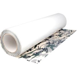 Camouflage (Groen) Flexfolie 50 cm x 1 meter