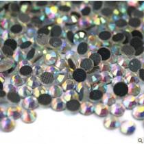 Hot Fix Rhinestone Crystal AB  SS10 Zakje a 50 gram