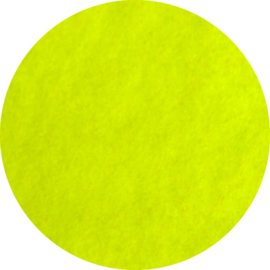 Fluor Yellow 101 Flock Folie 30 cm x 50 cm