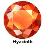 Hot Fix Rhinestone  Hyacinth  SS30 Zakje a 200 gram