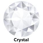 Hot Fix Rhinestone Crystal SS8 Zakje a 200 gram
