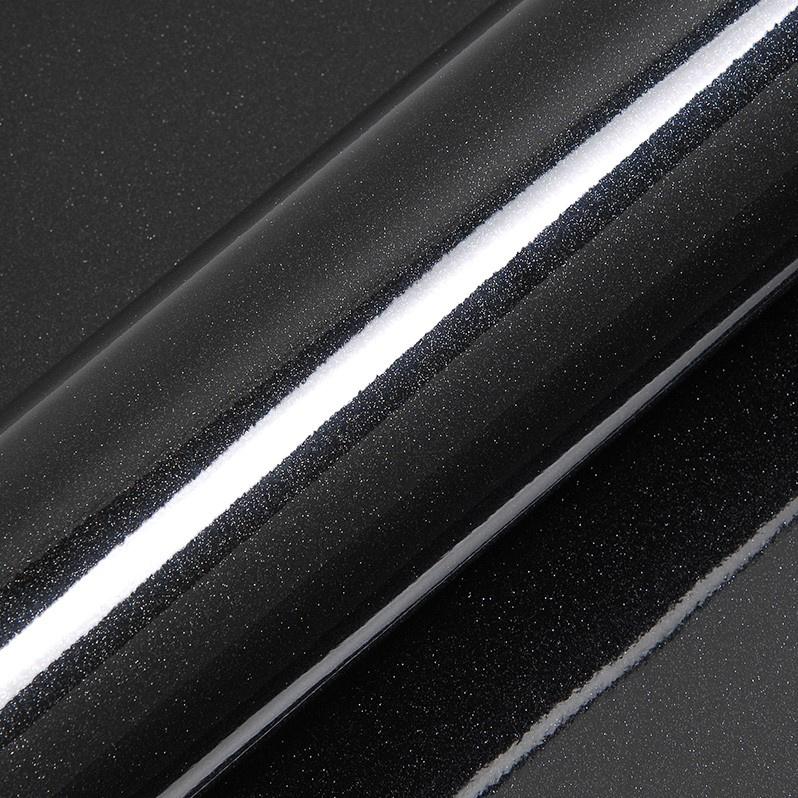 Glitter Catechu Zwart Glossy 50 cm x 30 cm