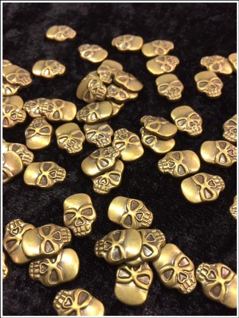 Coper Bronze Skull 25 gram