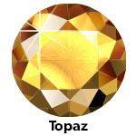 Hot Fix Rhinestone  Topaas  SS20 Zakje a 200 gram