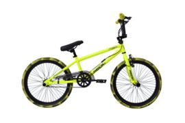 BMX Freestyle / Crossfiets ROCK GLANZEND GEEL 20 INCH