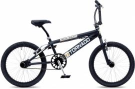 BMX Freestyle / Crossfiets BUGATTI MAT ZWART 20 INCH FREESTYLE