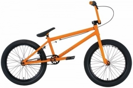 "BMX Premium duo matt orange 21"" tt"