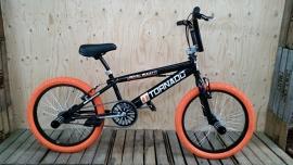 BMX Freestyle / Crossfiets BUGATTI TORNADO  ZWART / ORANJE 20 INCH LIMITED EDITION