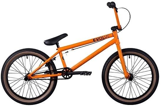 BMX Social Evolve matt orange