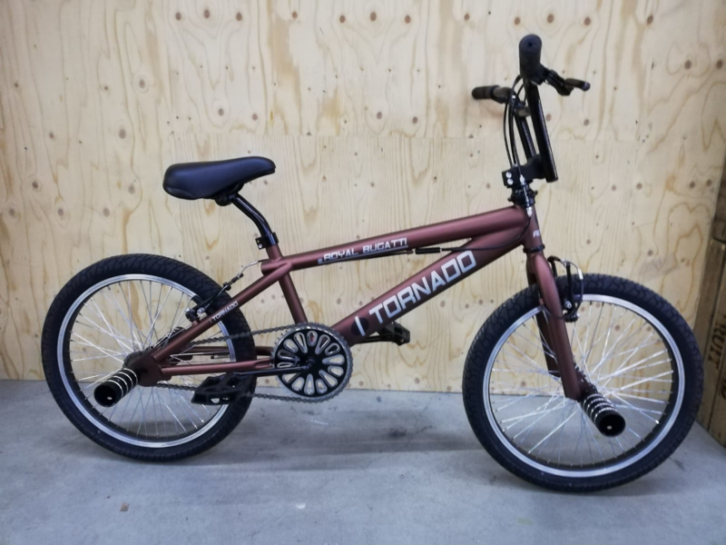NIEUWE FREESTYLER!!! BMX Freestyle / Crossfiets SPARKLE BROWN MATT 20 INCH LIMITED EDITION