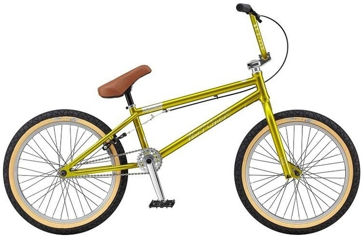 BMX GT Performer gloss lime gold