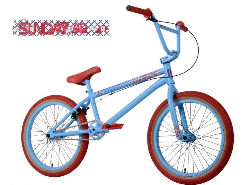 BMX SUNDAY AARON ROSS PRO - VAPOR BLUE / RED