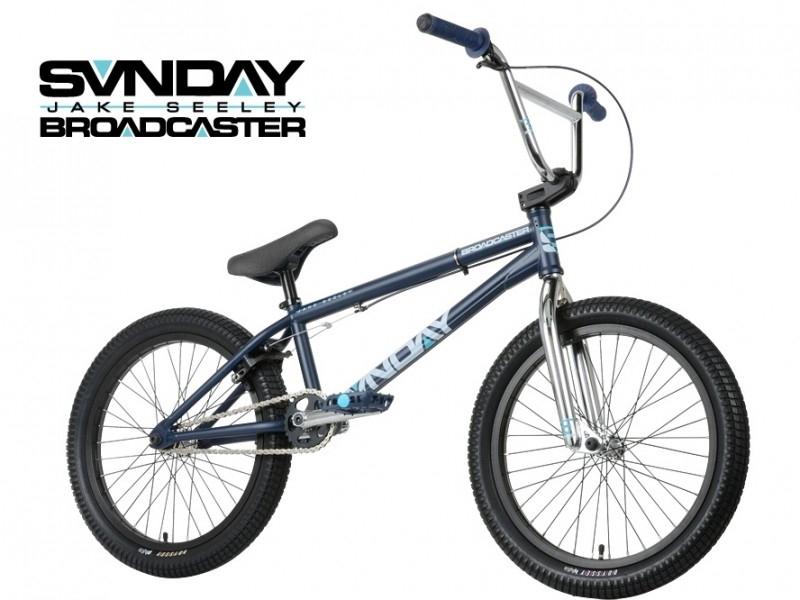 BMX SUNDAY BROADCASTER - MIDNIGHT BLUE / CHROME