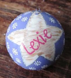Kerstbal Lexie