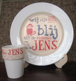 Ontbijtset Jens