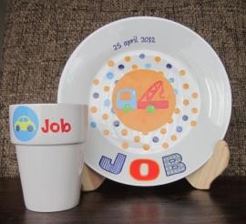 Ontbijtset Job