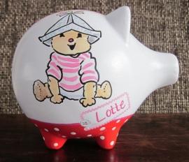 Spaarvarken Lotte