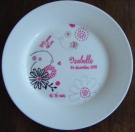 Geboortekaartje Isabelle