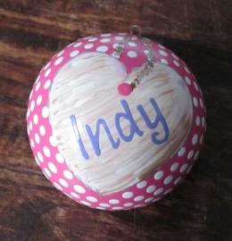 Kerstbal Indy