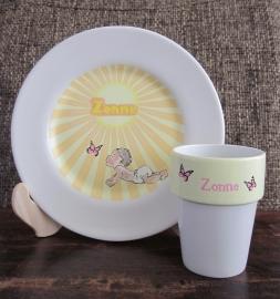 Ontbijtset Zonne