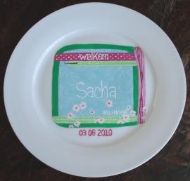 Geboortekaartje Sacha