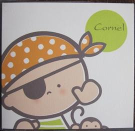 Geboorte-tegel Cornel